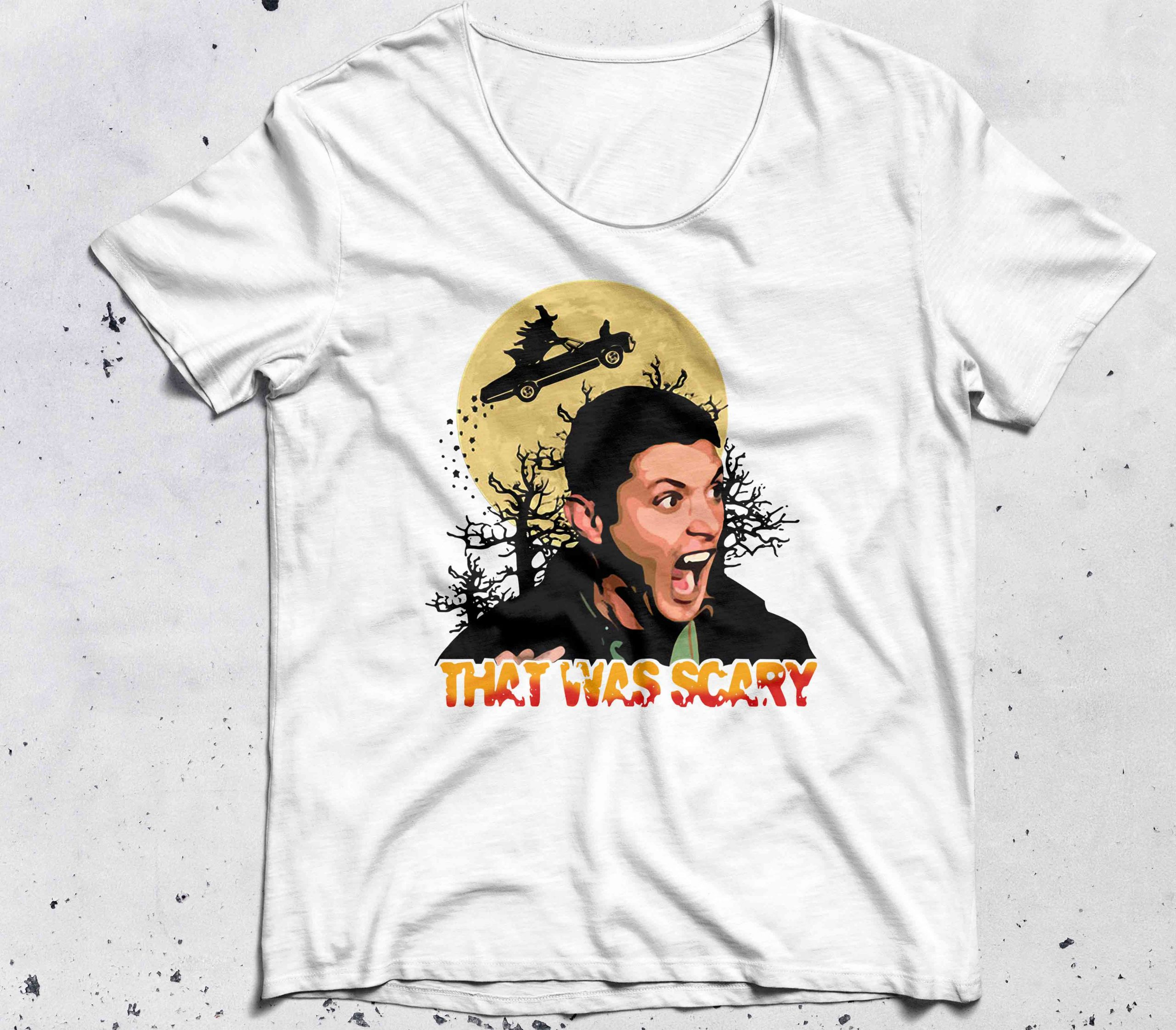 Halloween Dean Winchester that was scary shirt