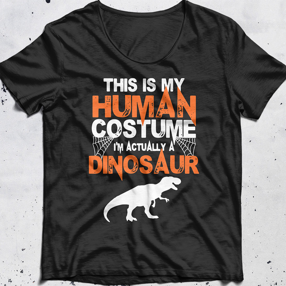 Halloween This Is My Human Costume I'm Really A Dinosaur shirt