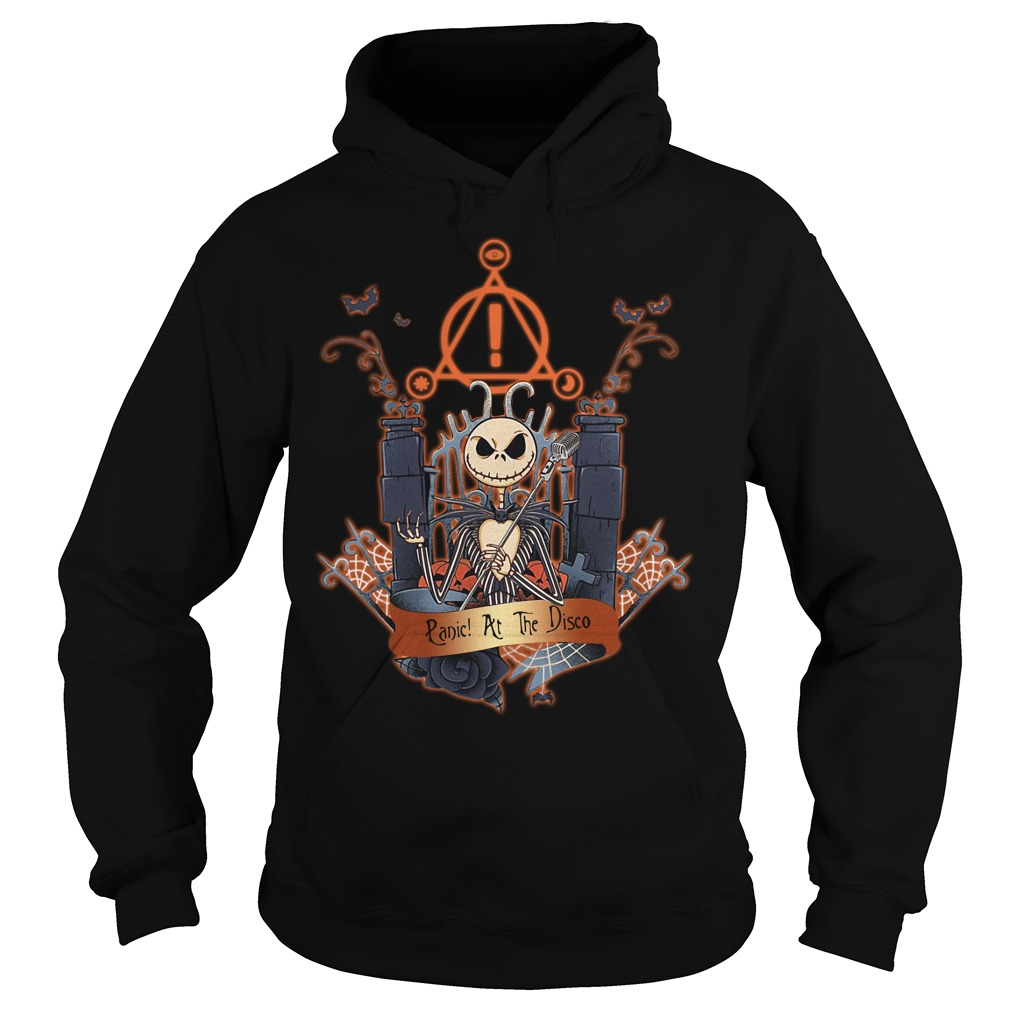 Halloween Jack Skellington Panic at the disco Hoodie