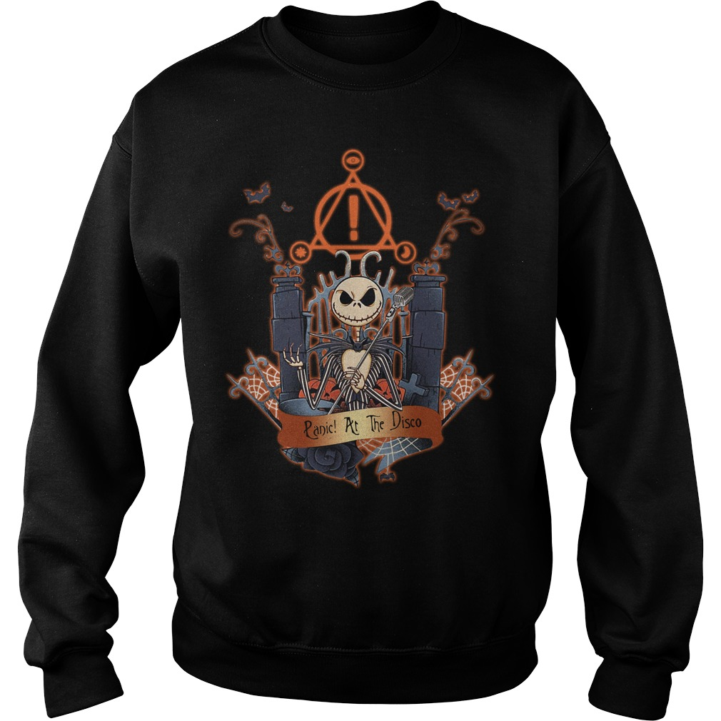 Halloween Jack Skellington Panic at the disco Sweater
