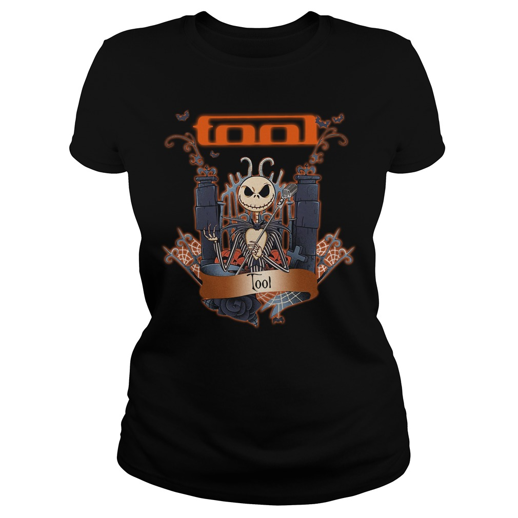 Halloween Jack Skellington Tool Ladies tee