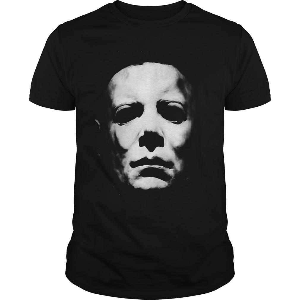 Halloween Michael Myers face Guys shirt