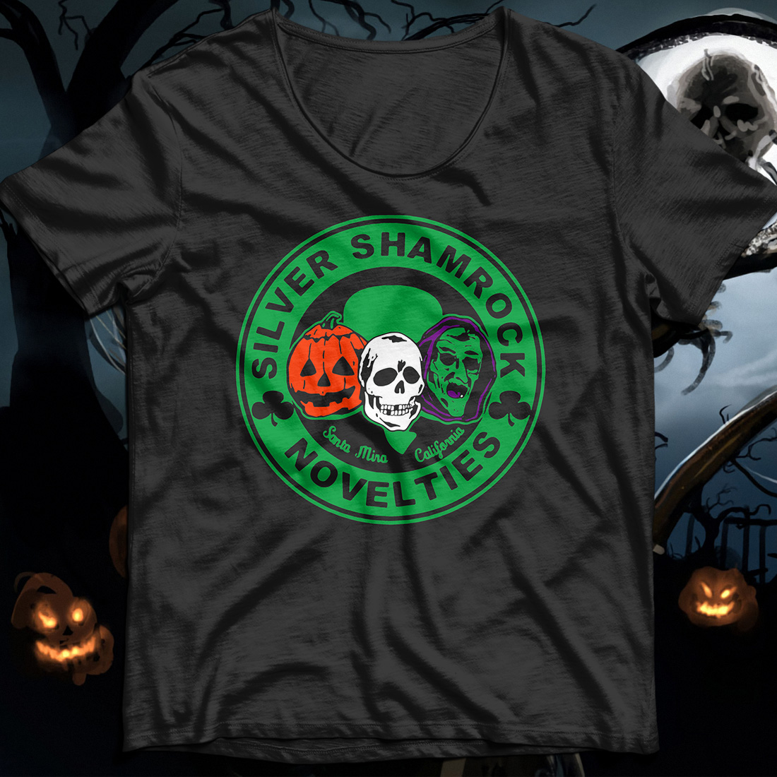 Halloween Silver shamrock novelties shirt