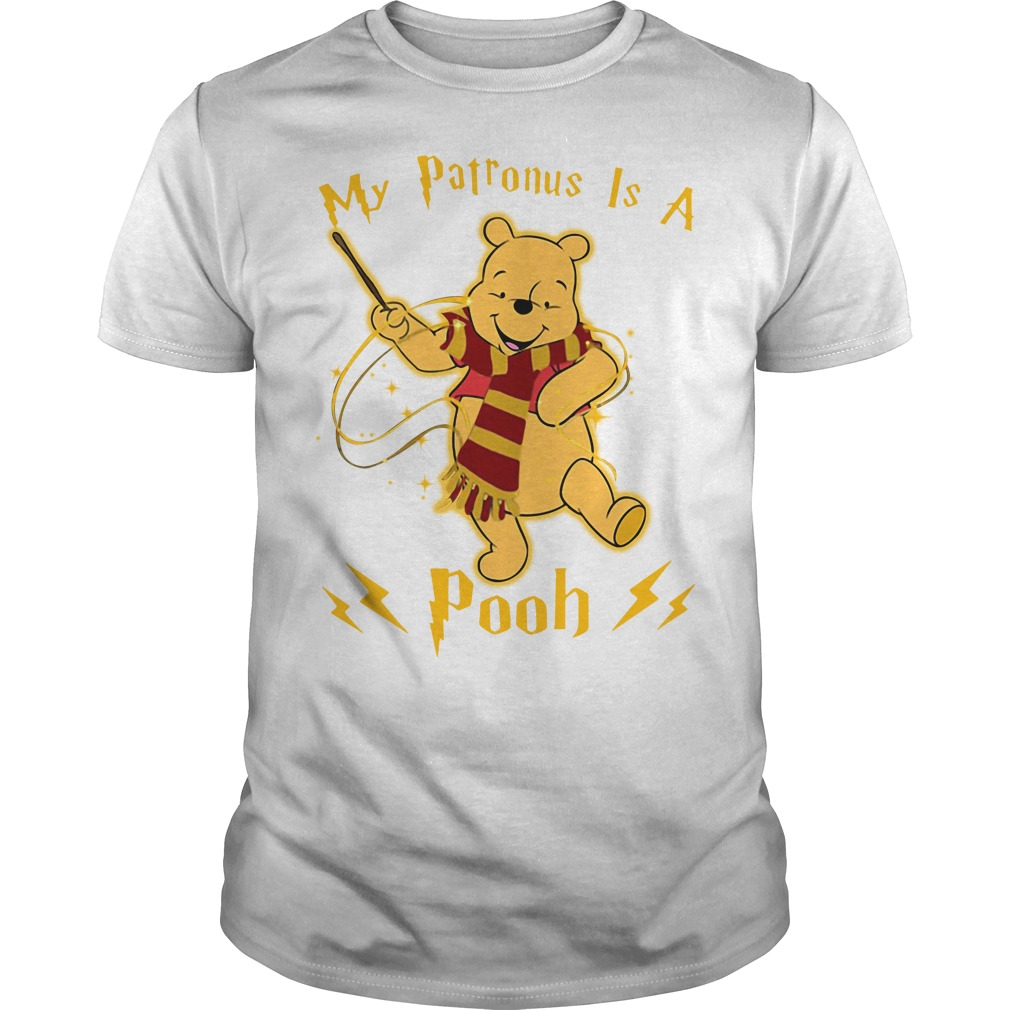 Harry Potter my Patronus is a Pooh Guys shirt