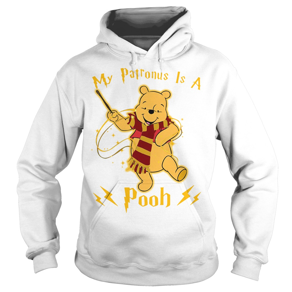 Harry Potter my Patronus is a Pooh Hoodie