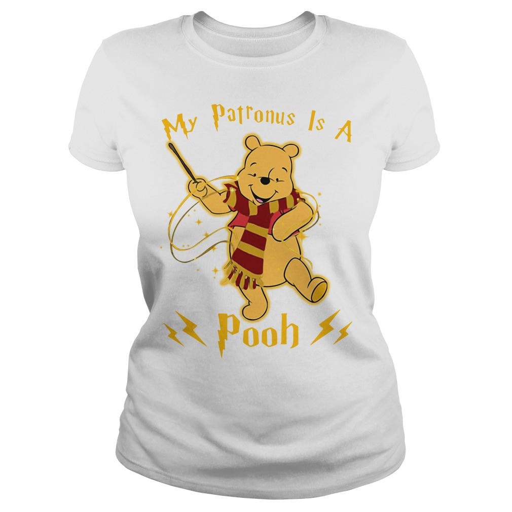Harry Potter my Patronus is a Pooh Ladies tee