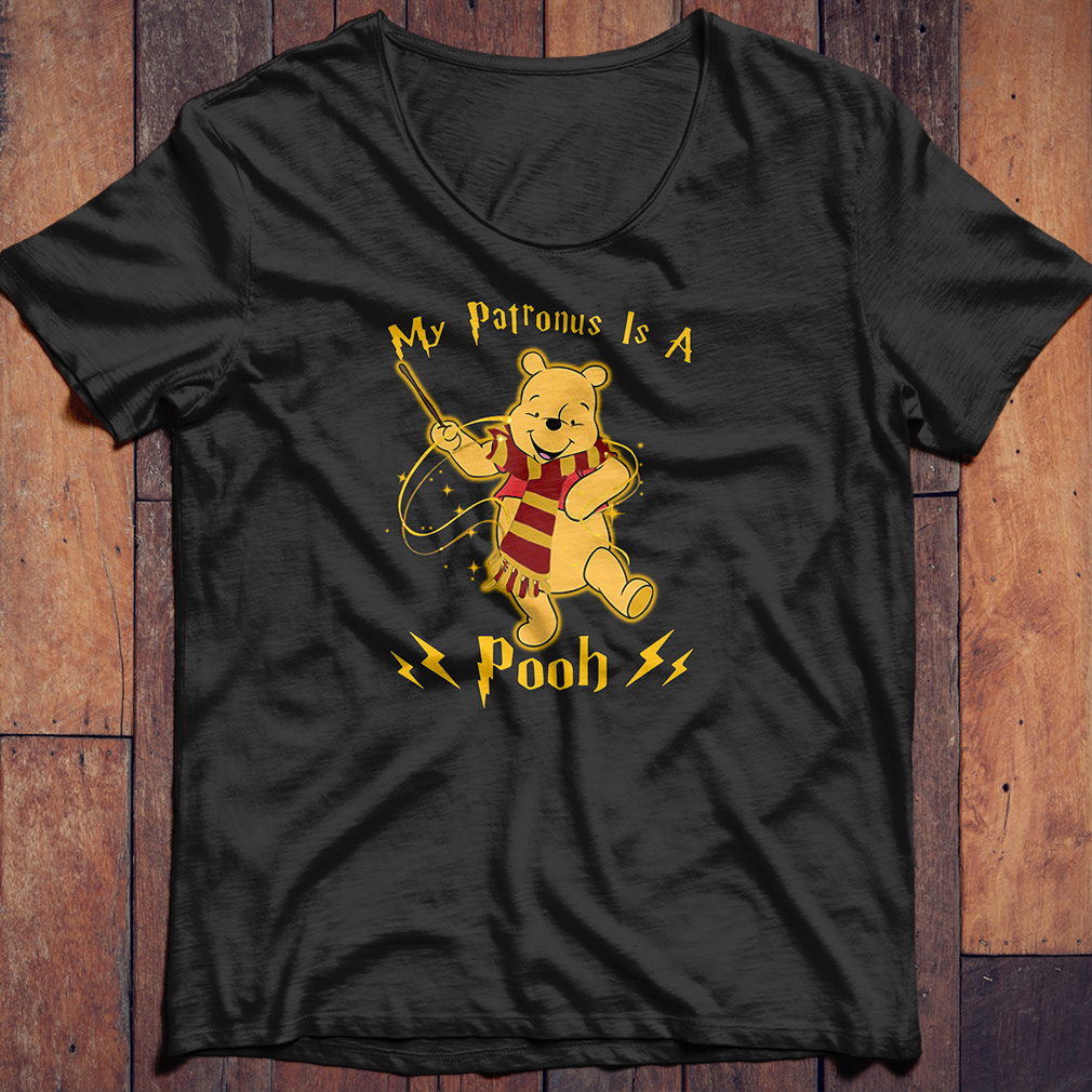 Harry Potter my Patronus is a Pooh shirt