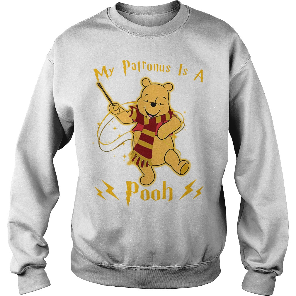Harry Potter my Patronus is a Pooh Sweater
