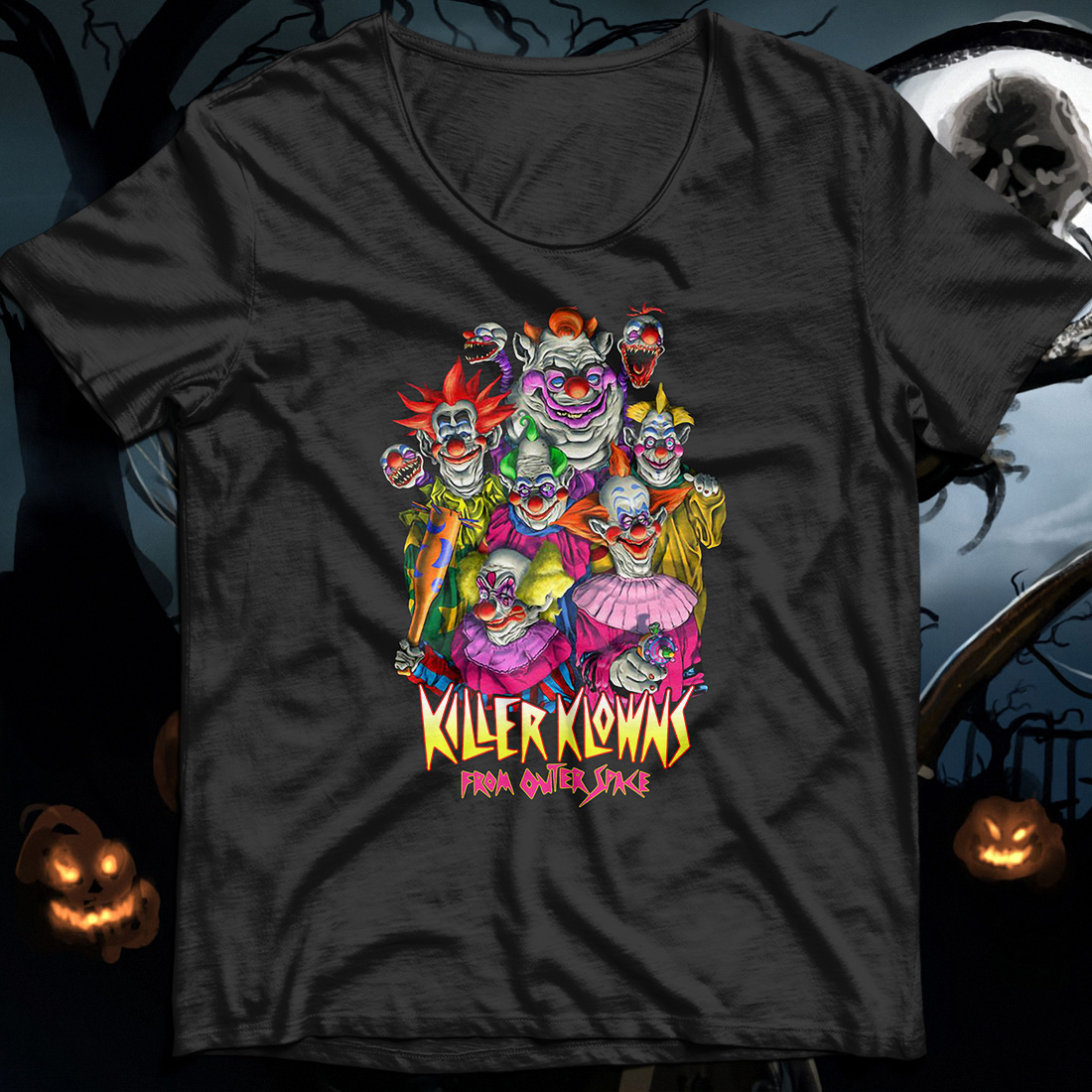 Horror Killer Klowns From Outer Space shirt