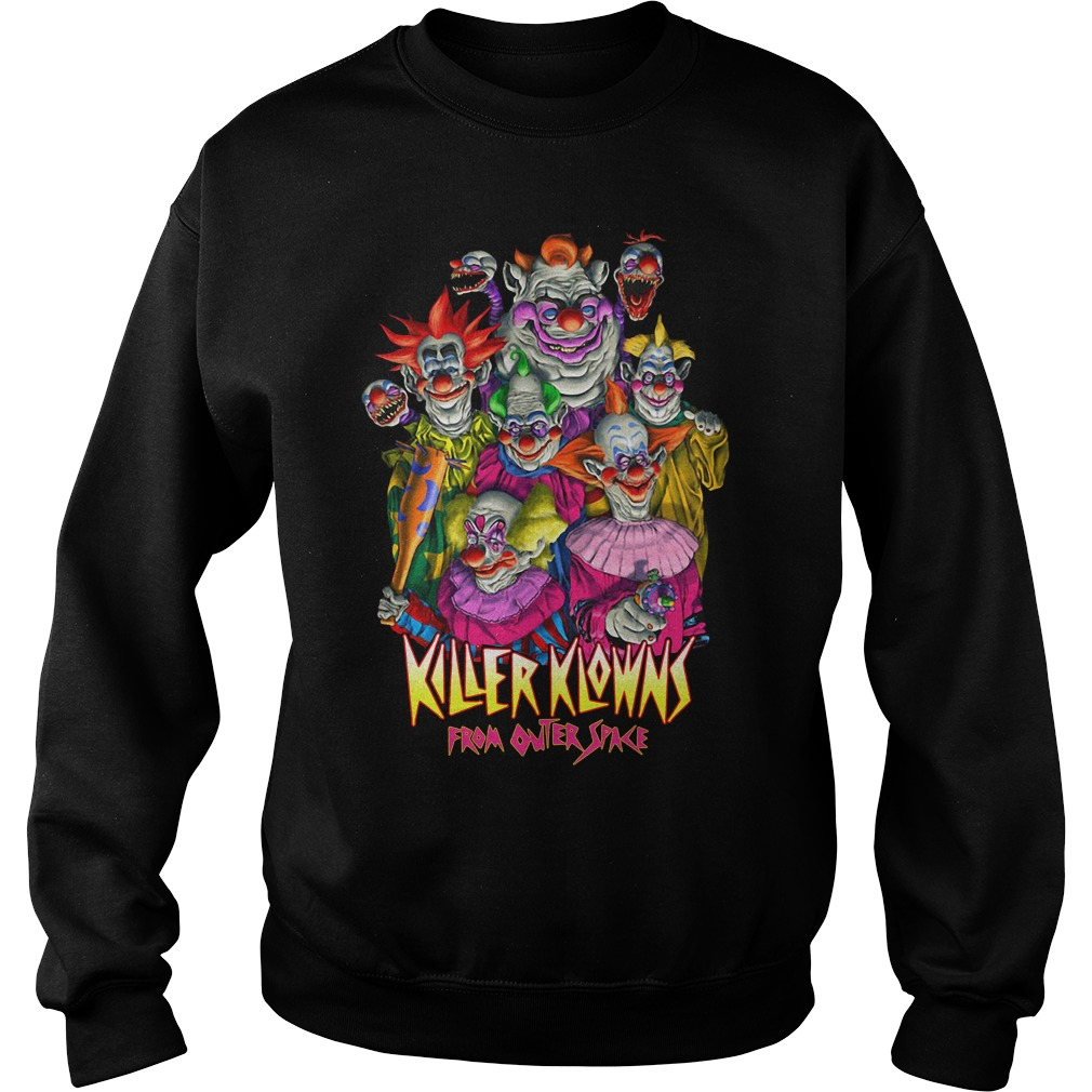 Horror Killer Klowns From Outer Space Sweater