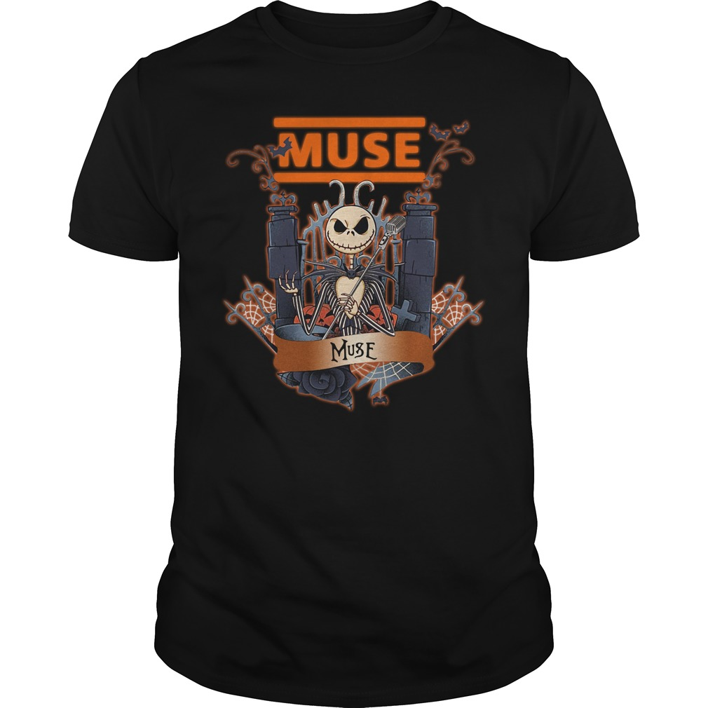 Jack Skellington muse Guys shirt