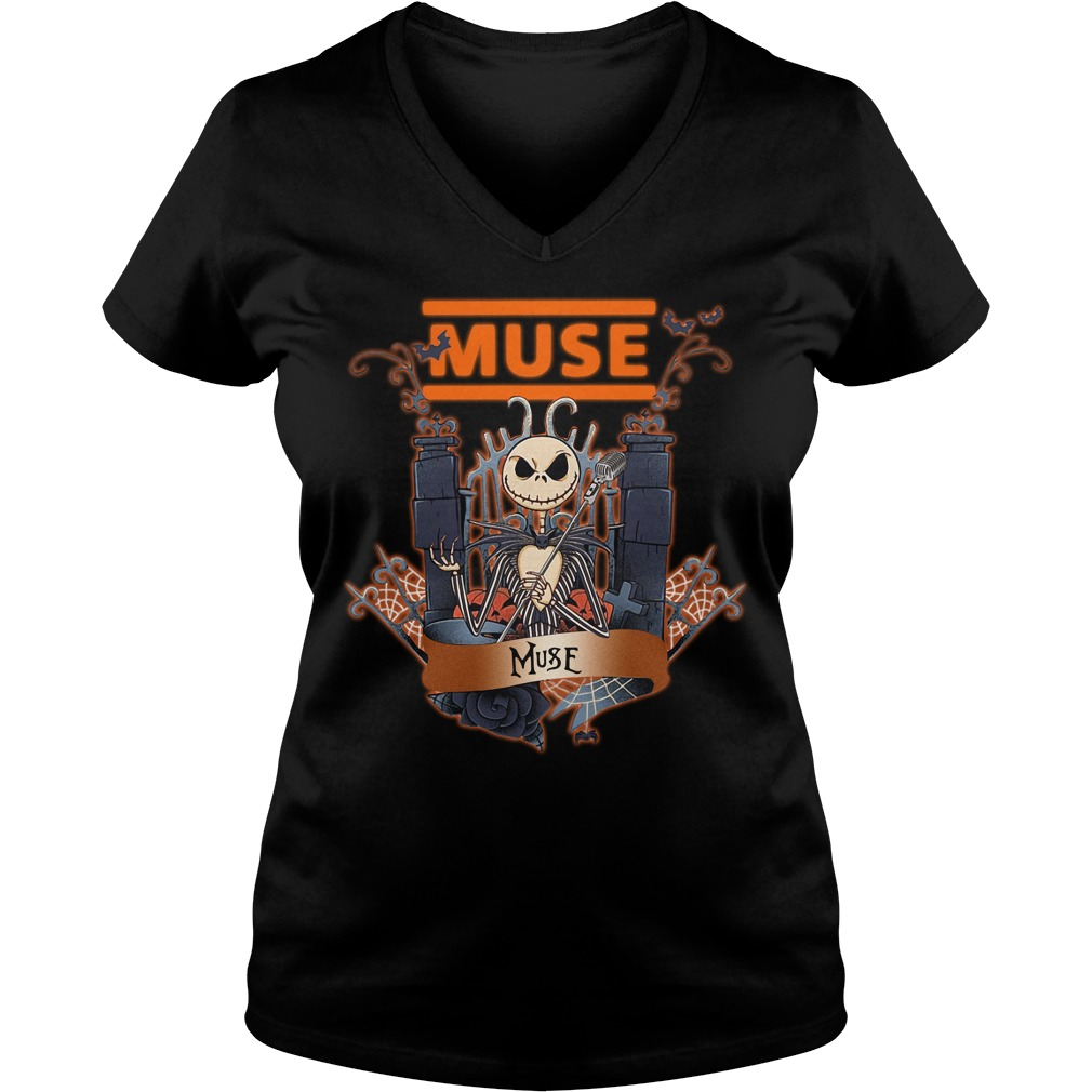Jack Skellington muse V-neck T-shirt