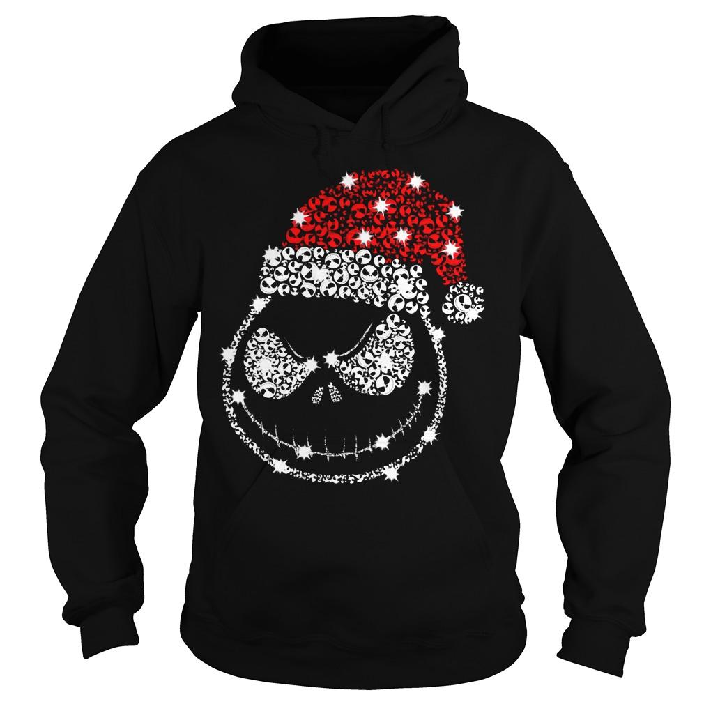 Jack Skellington Rhinestone Christmas Hoodie