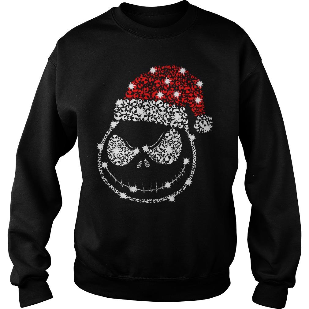 Jack Skellington Rhinestone Christmas Sweater