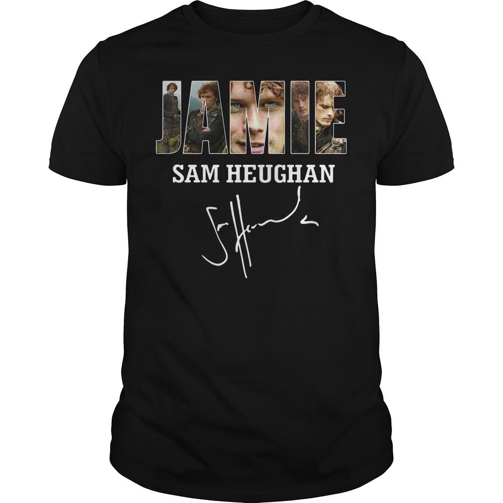 Jamie Sam Heughan Sam Heughan Guys shirt