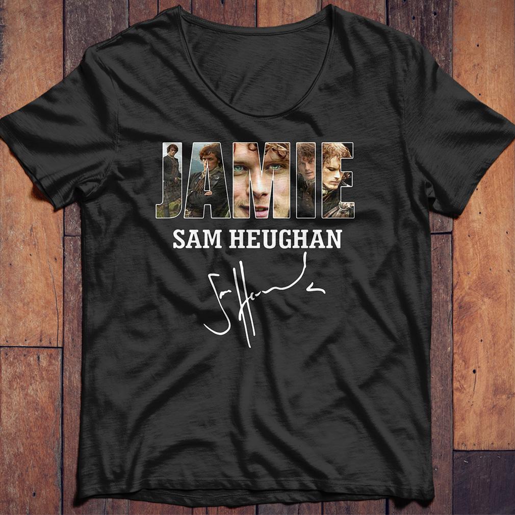 Jamie Sam Heughan Sam Heughan shirt