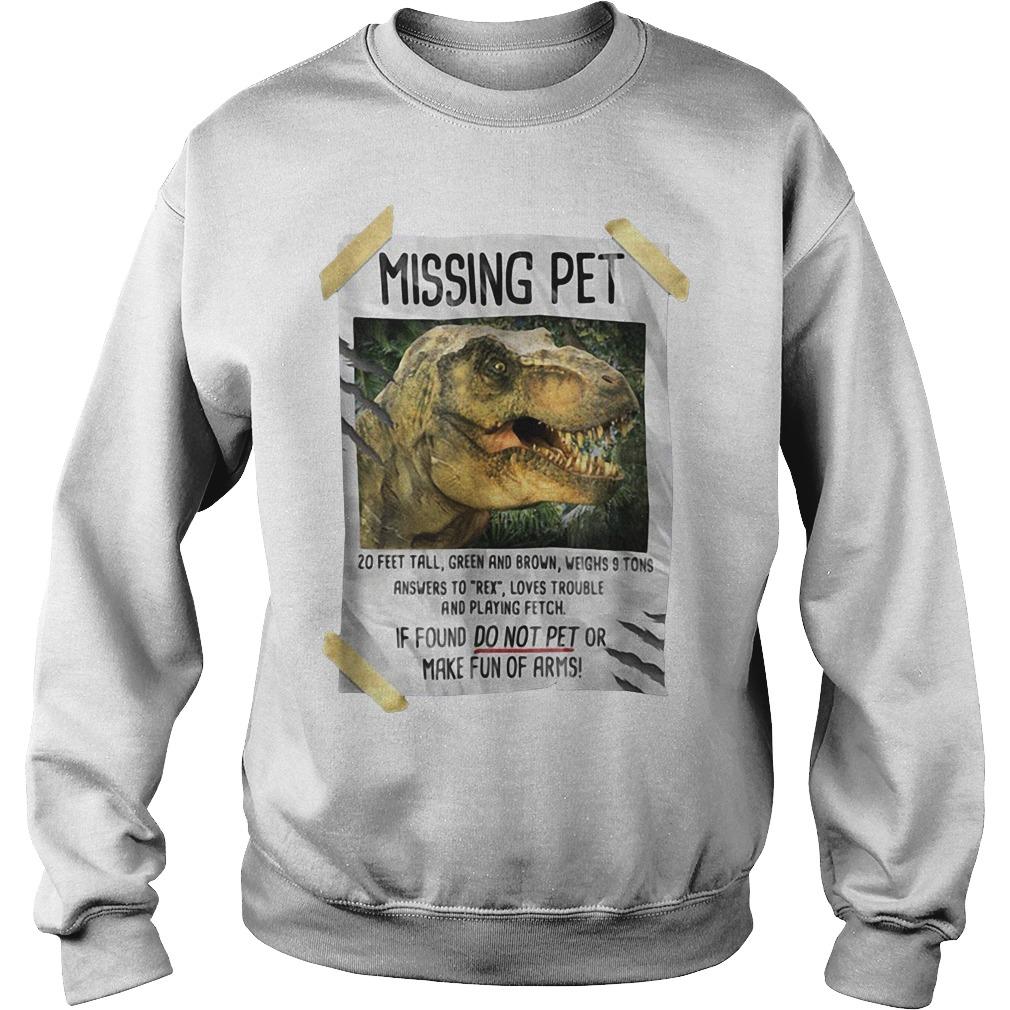 Jurassic park Missing pet Sweater