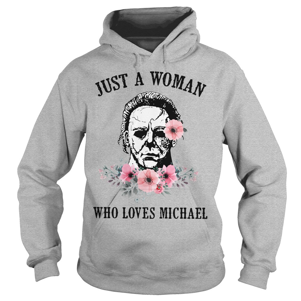 Just a woman who loves Michael Hoodie