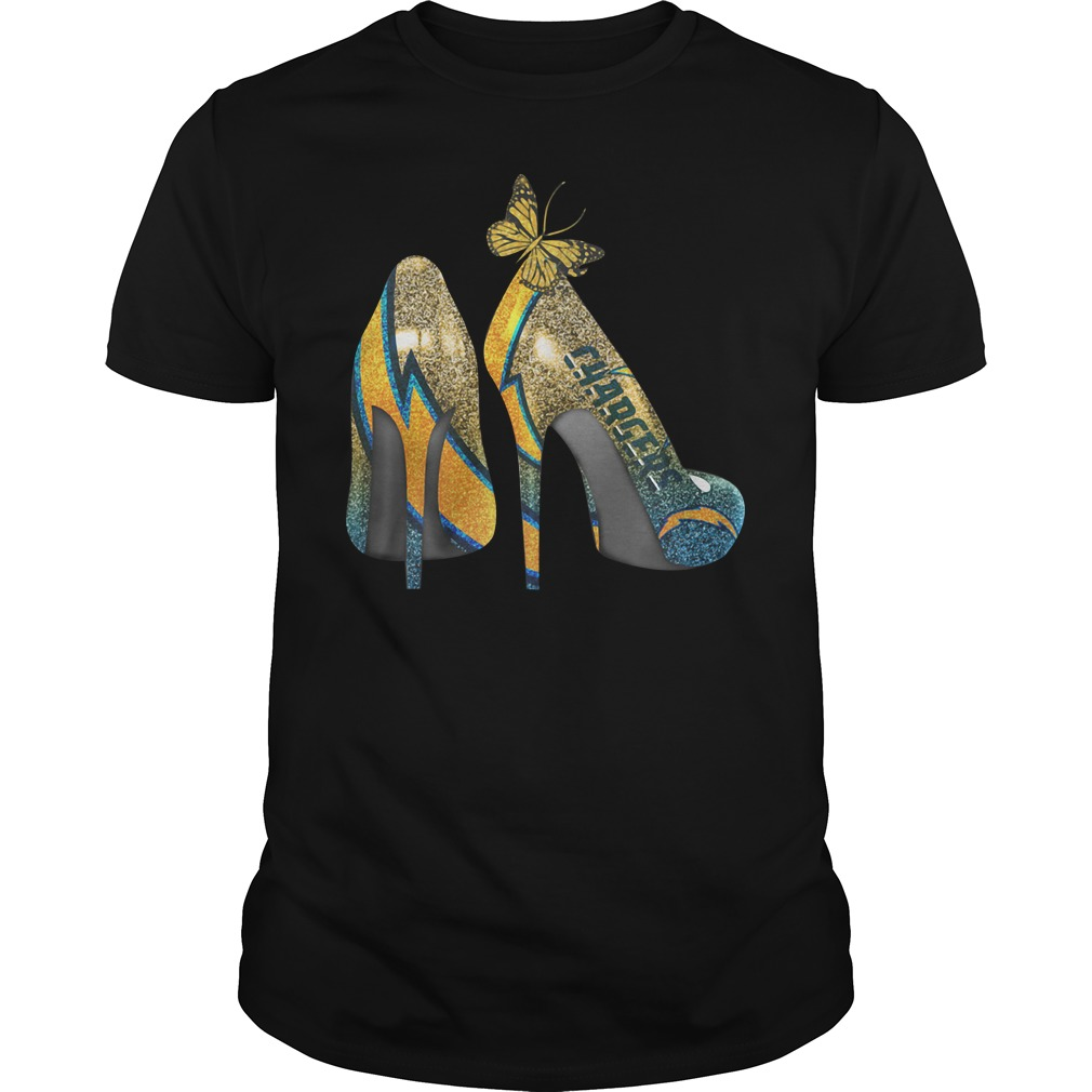 Los Angeles Chargers High Heels Guys shirt