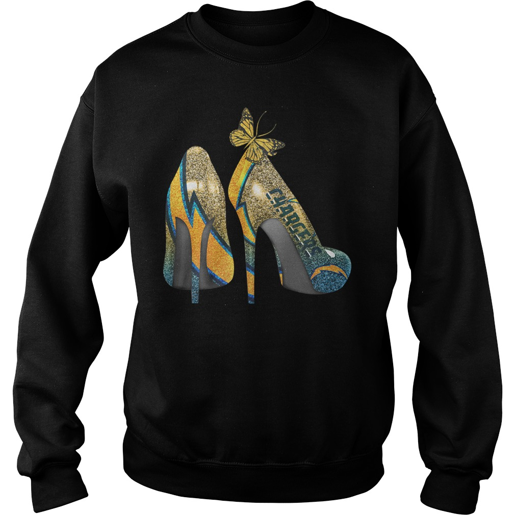Los Angeles Chargers High Heels Sweater