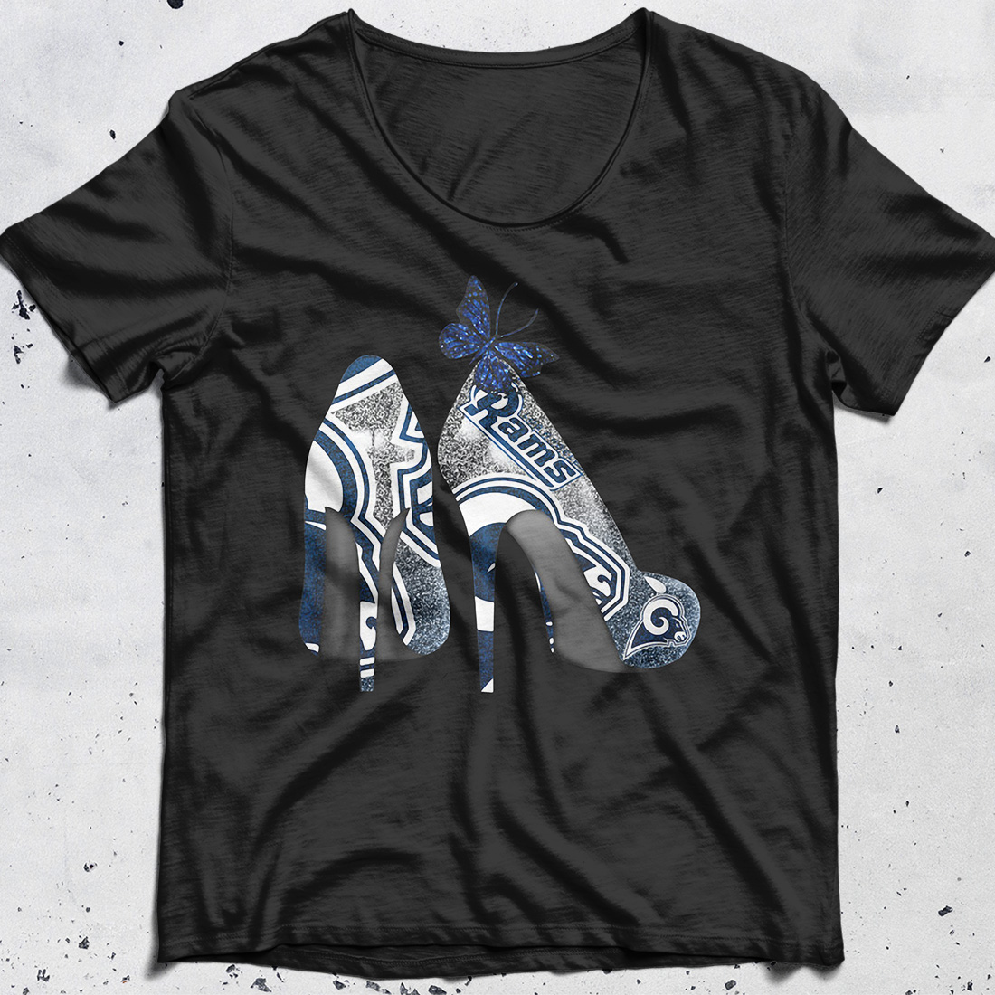 Los Angeles Rams High Heels shirt