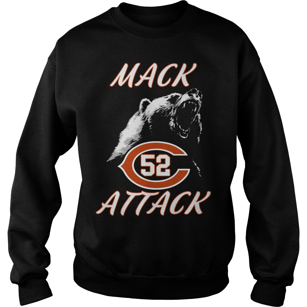 Mack Attack Bear Chicago Bears Welcome New Player 52 Sweater