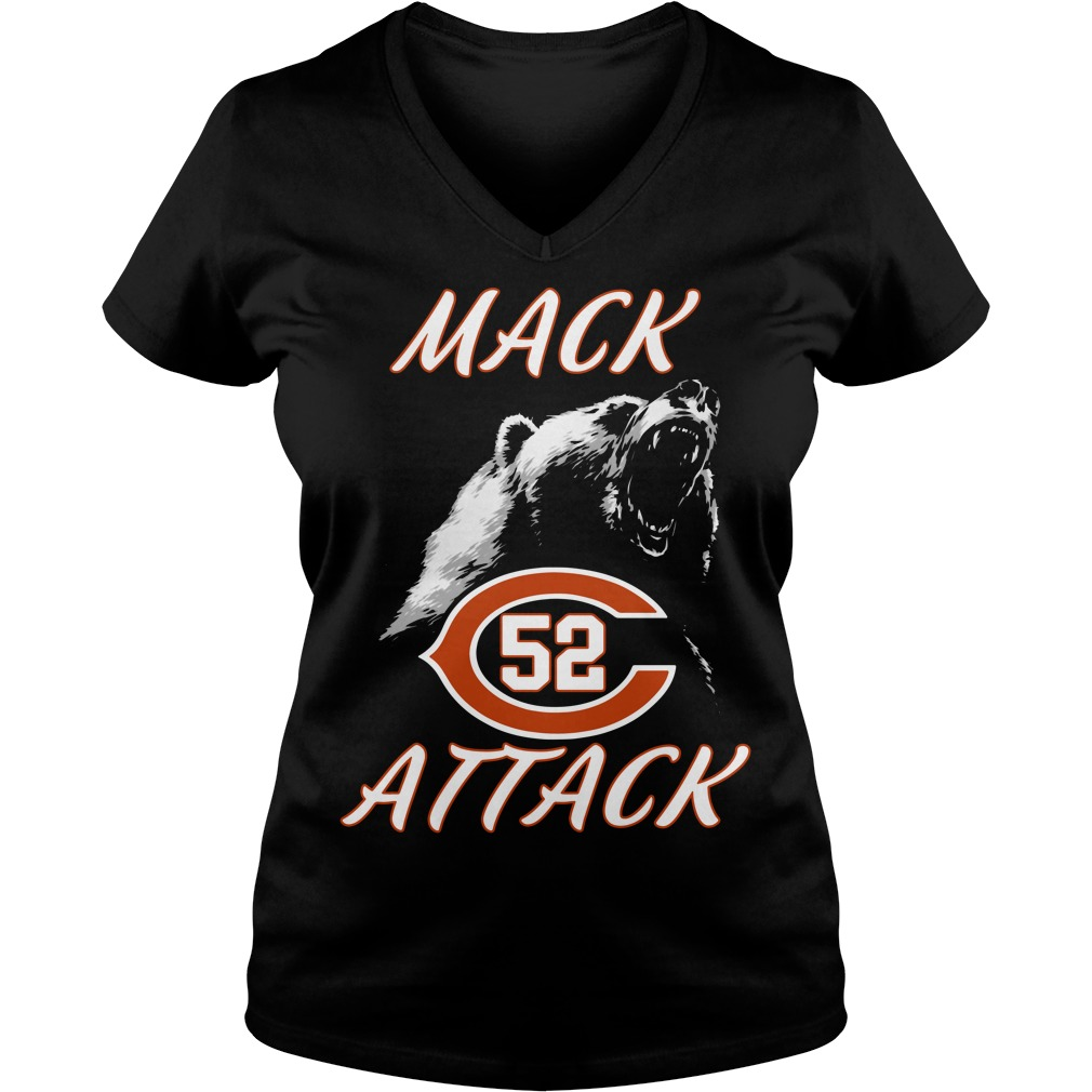 Mack Attack Bear Chicago Bears Welcome New Player 52 Tank top