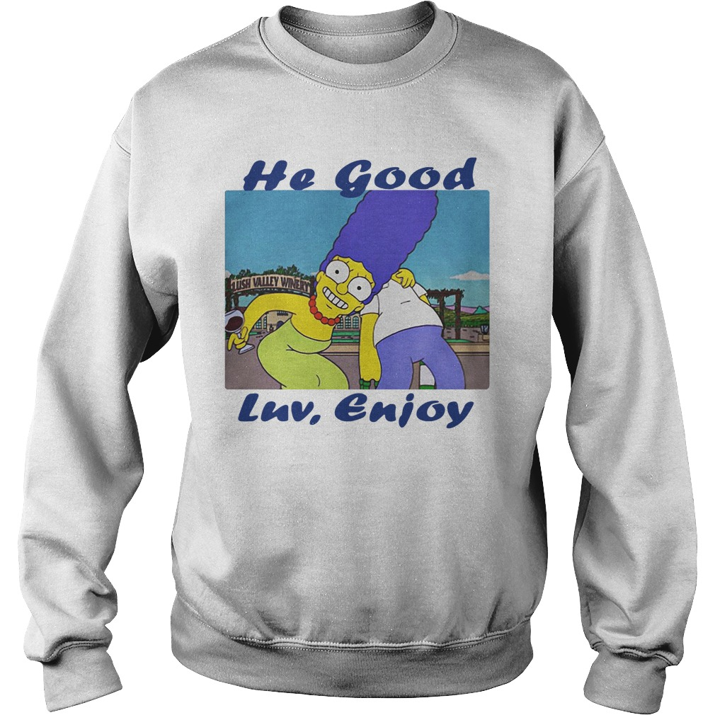 Marge Simpson and Simpson he good Luv enjoy Sweater