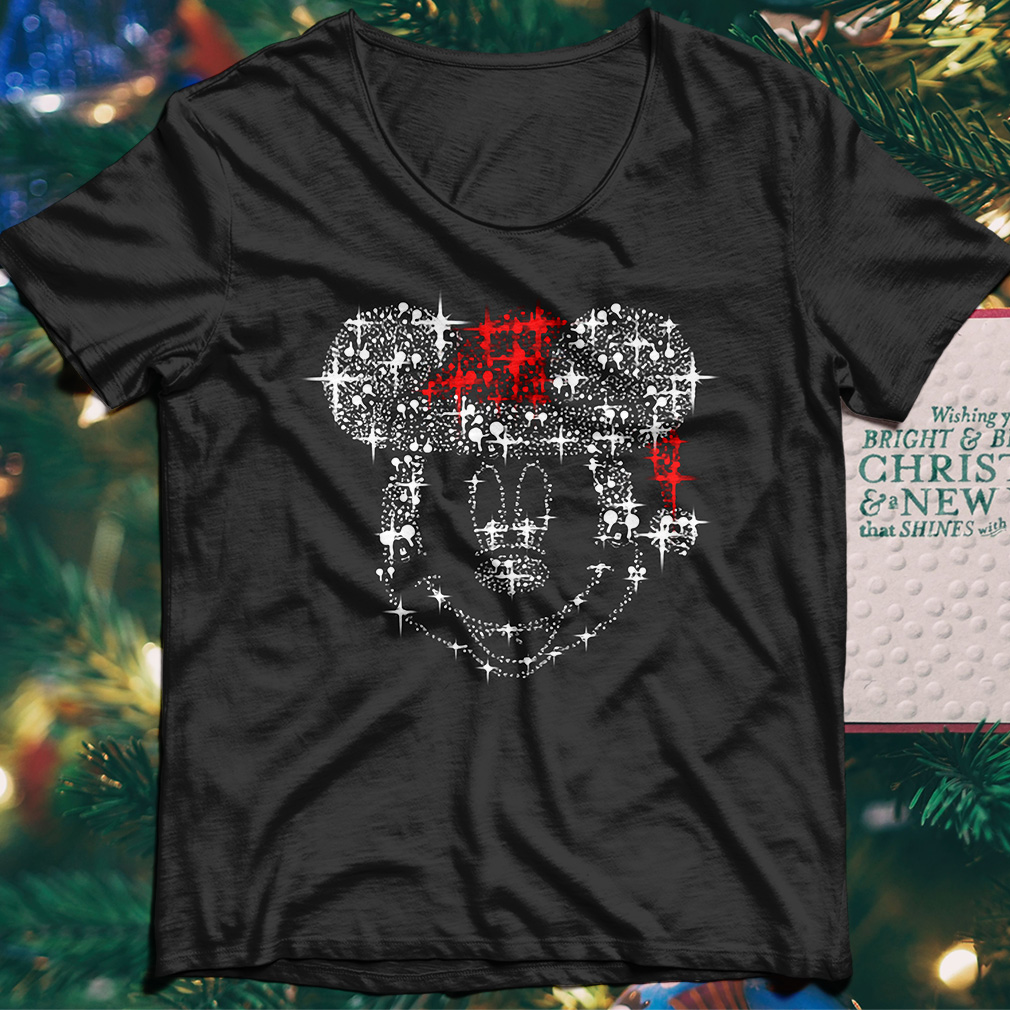 Mickey Mouse Rhinestone Christmas sweater