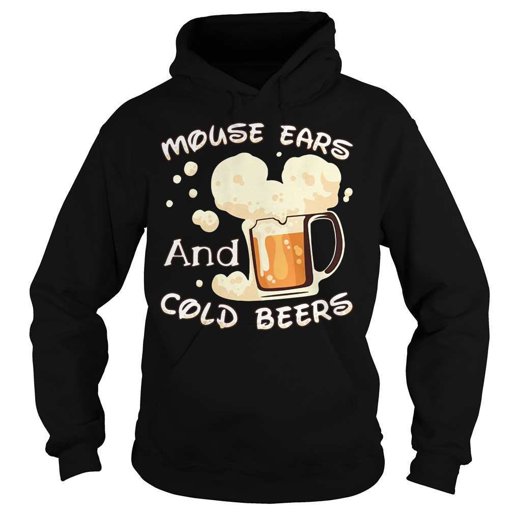 Mouse ears and cold beers Hoodie