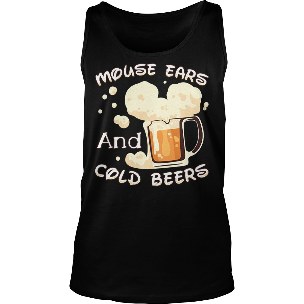 Mouse ears and cold beers Tank top