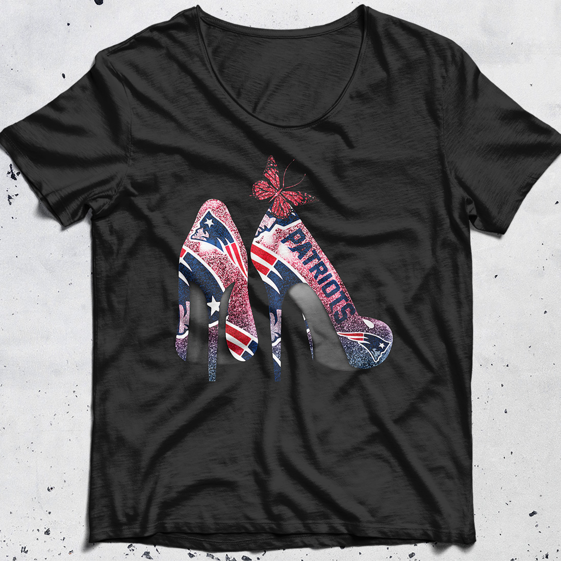 New England Patriots High Heels shirt