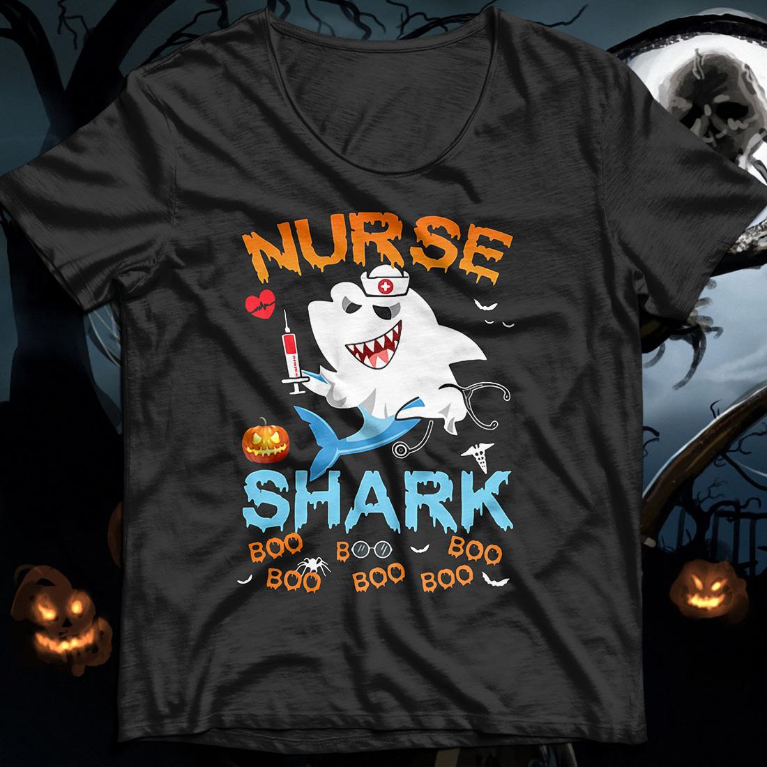Official Halloween Nurse Shark Boo Boo Boo Boo shirt