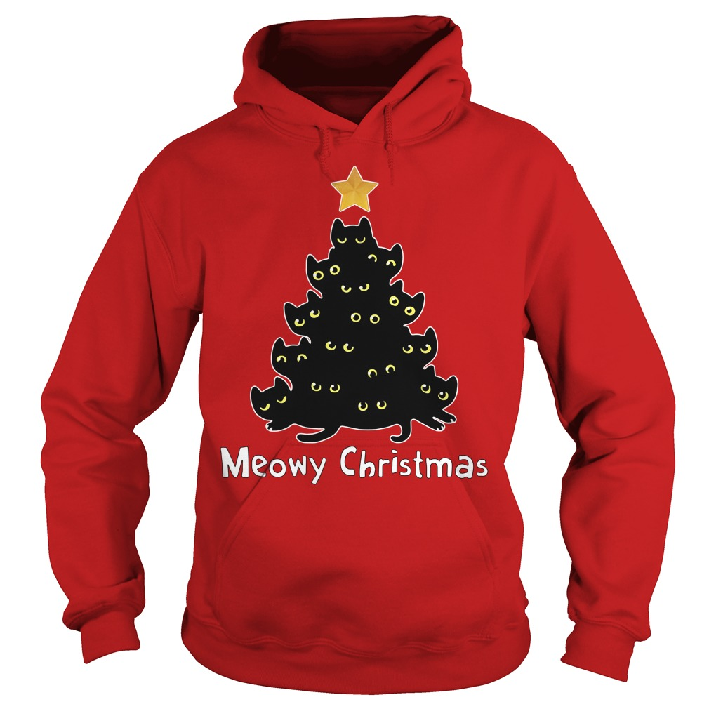 Official Meowy Christmas Hoodie