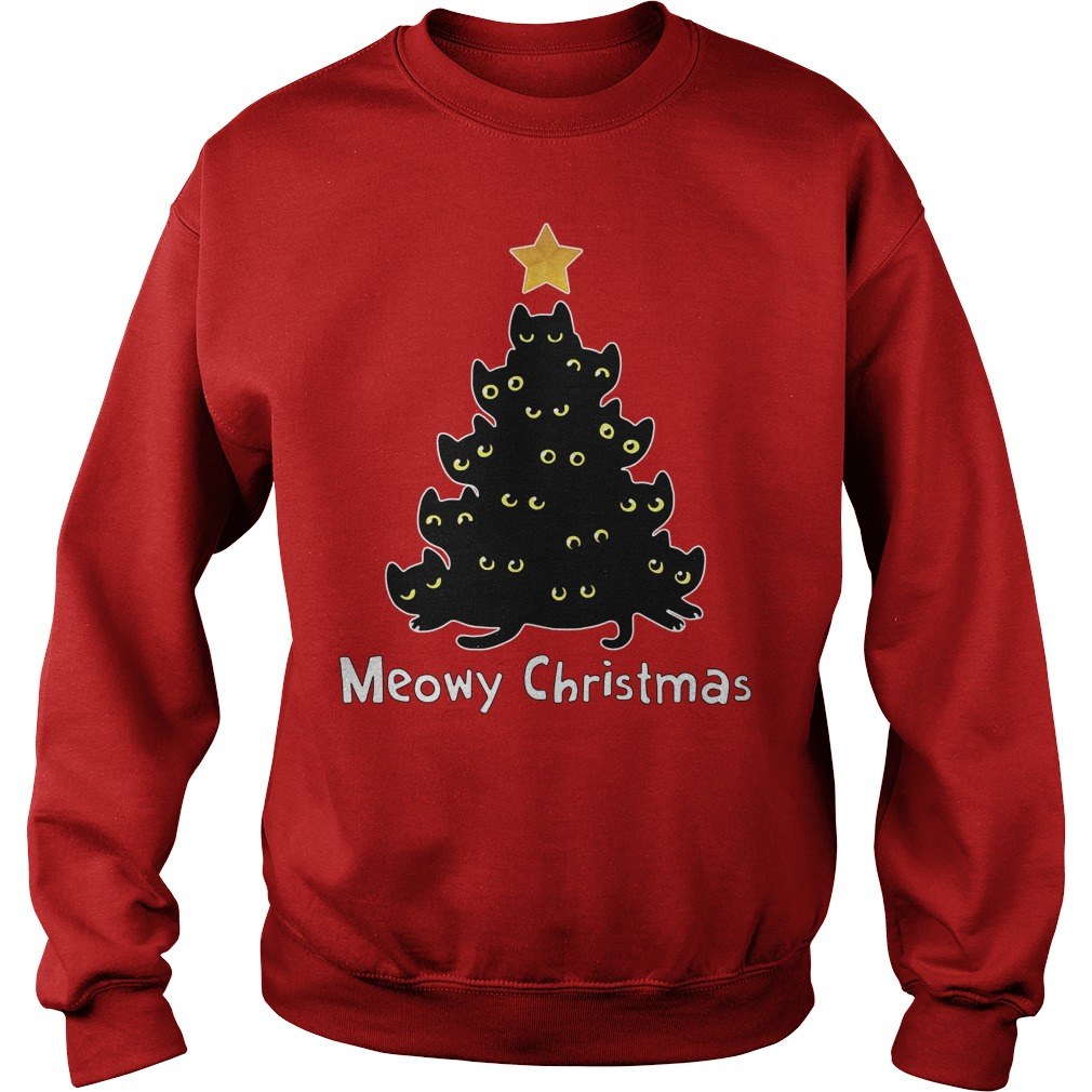 Official Meowy Christmas Sweater