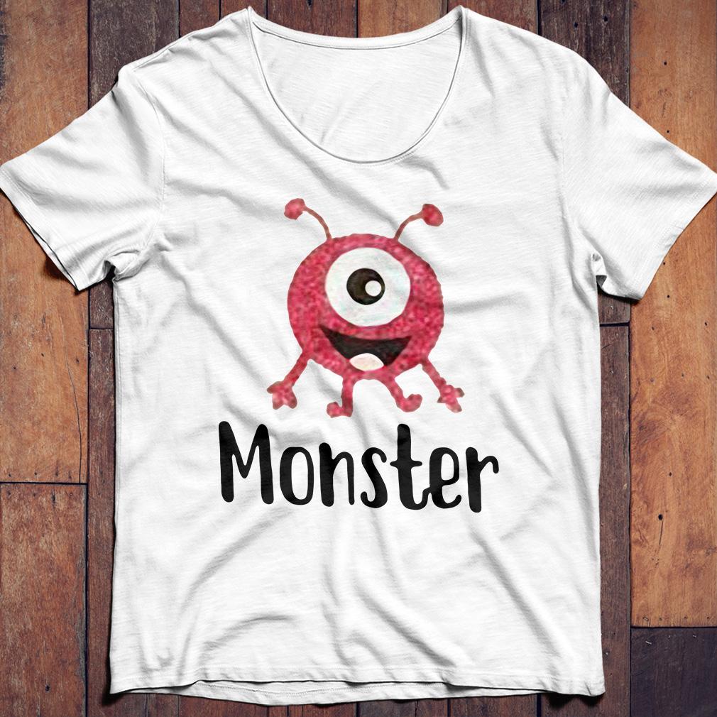 Official monster shirt
