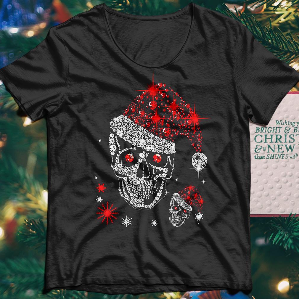 Official Skull Rhinestone Christmas shirt