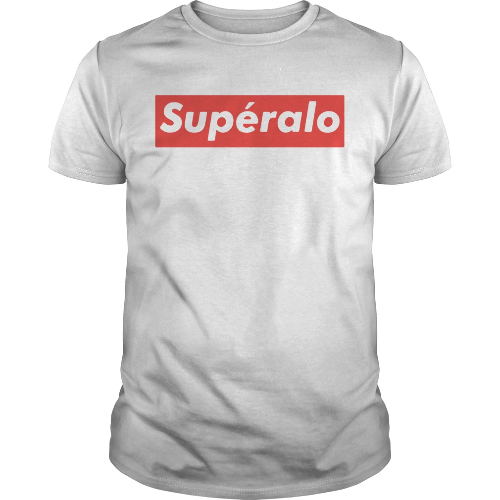 Official Superalo style Guys shirt