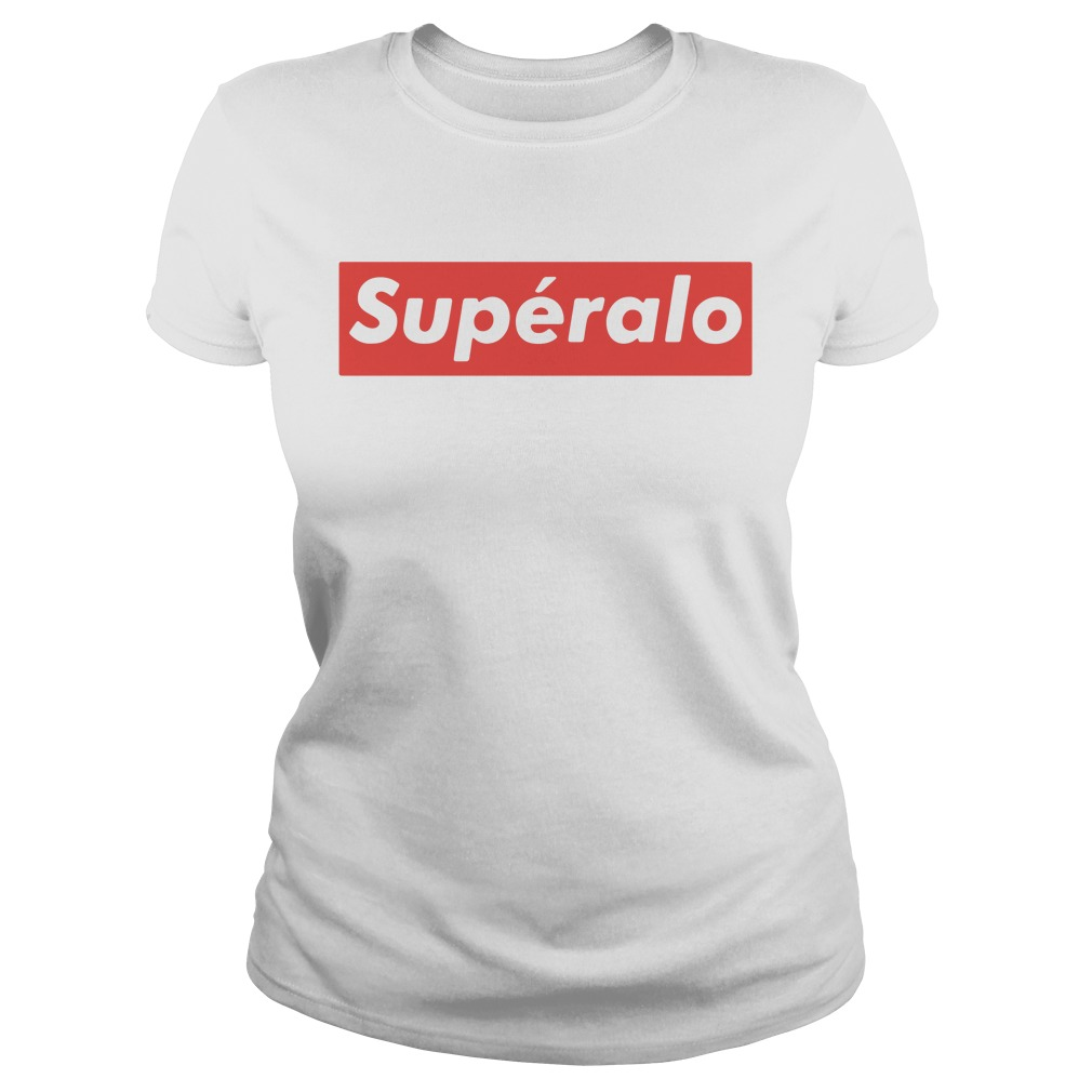 Official Superalo style Ladies tee