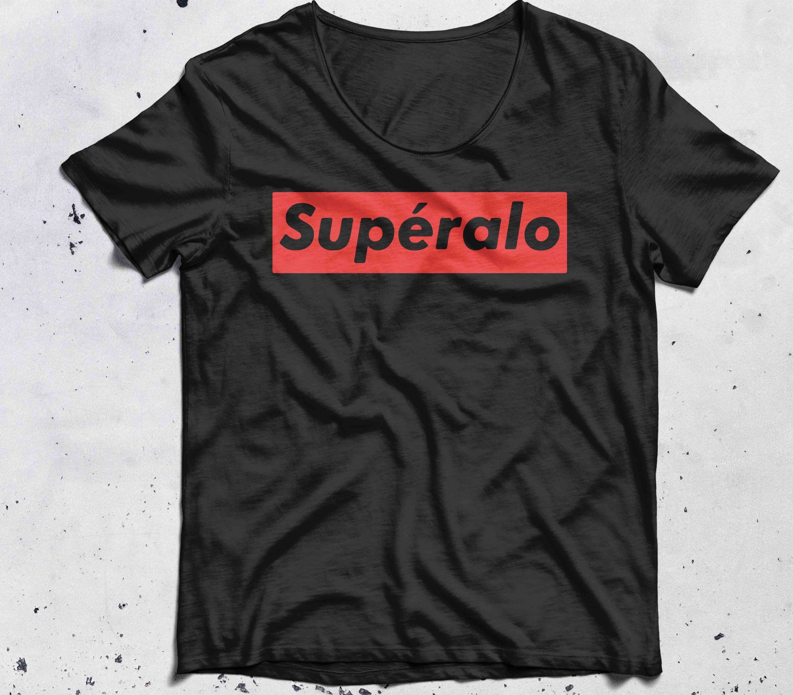 Official Superalo style shirt
