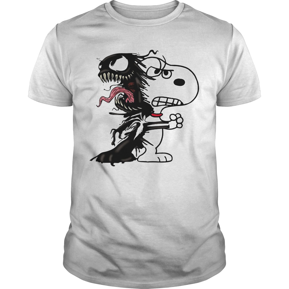Official Venom and Snoopy Guys shirt