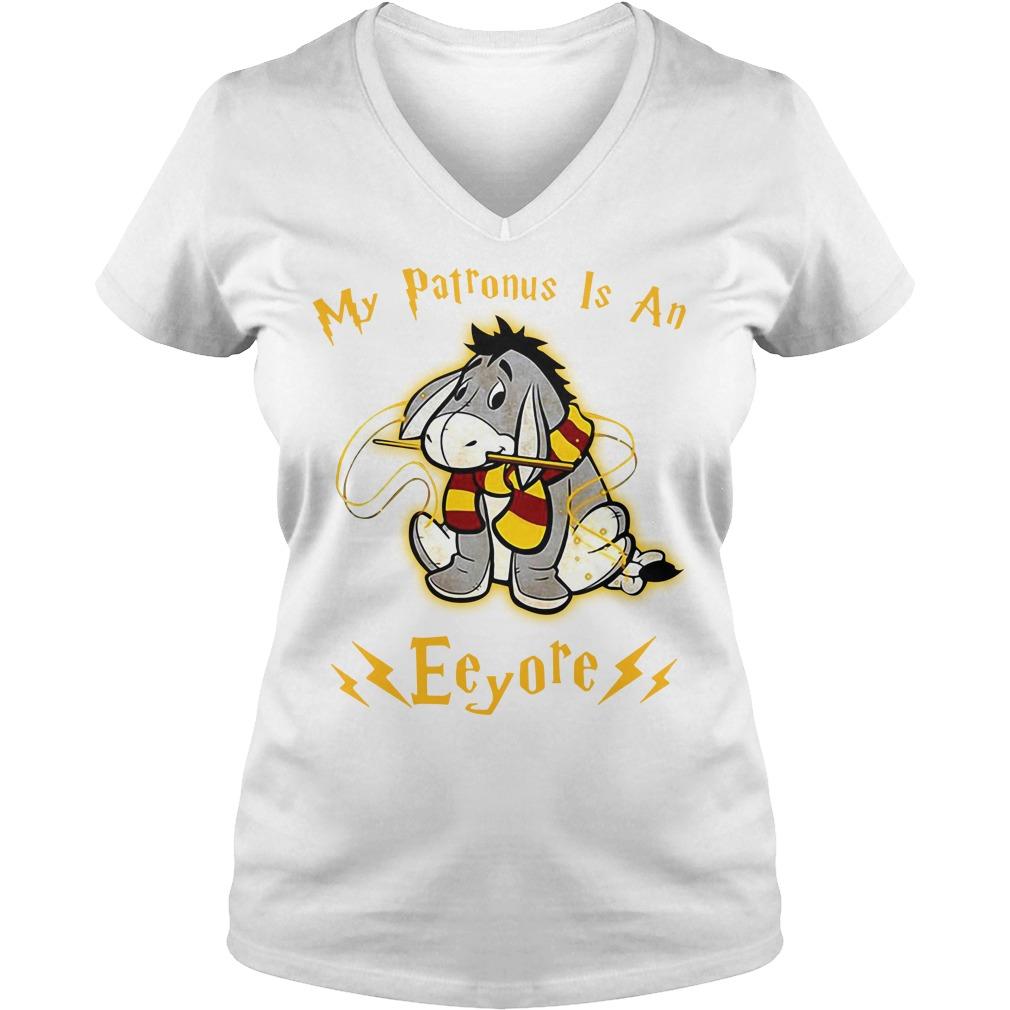 My patronus is an Eeyore V-neck T-shirt
