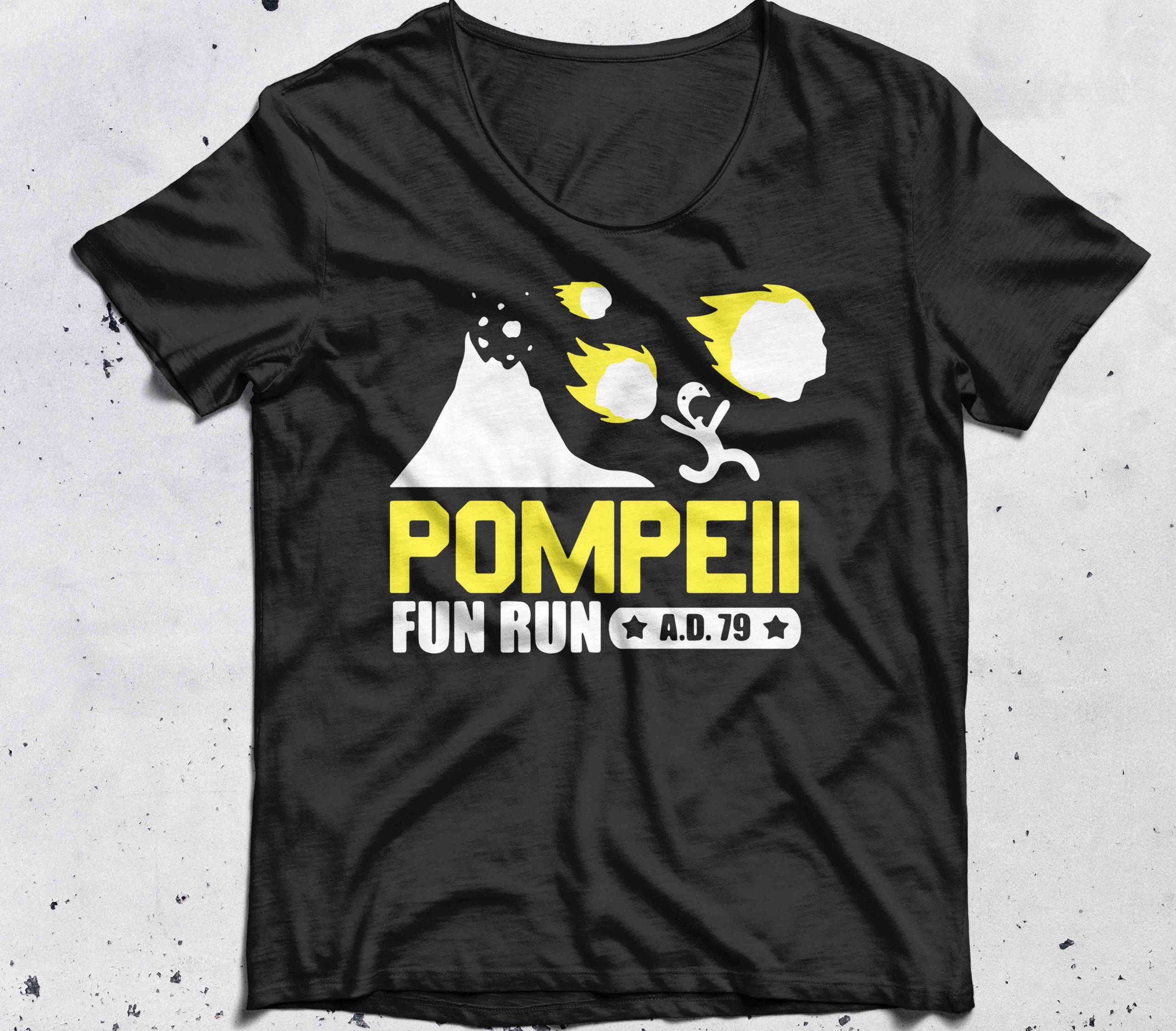 Pompeii Fun Run shirt