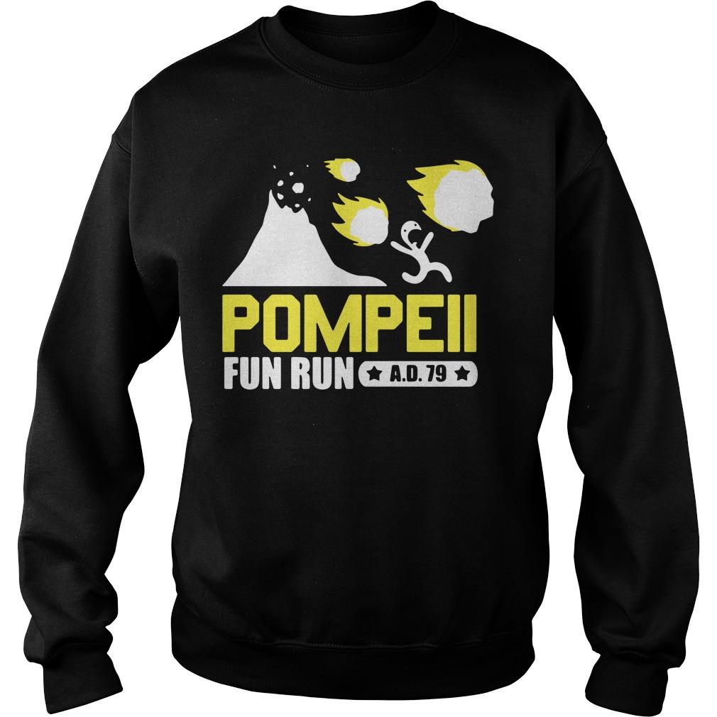Pompeii Fun Run Sweater