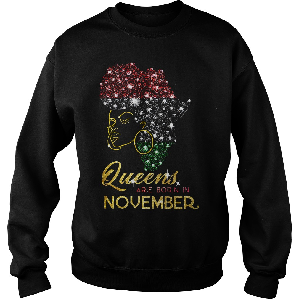 Queens are born in November Sweater