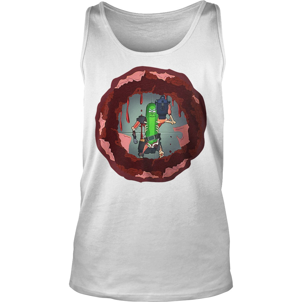 Rick and morty hole in the wall Tank top