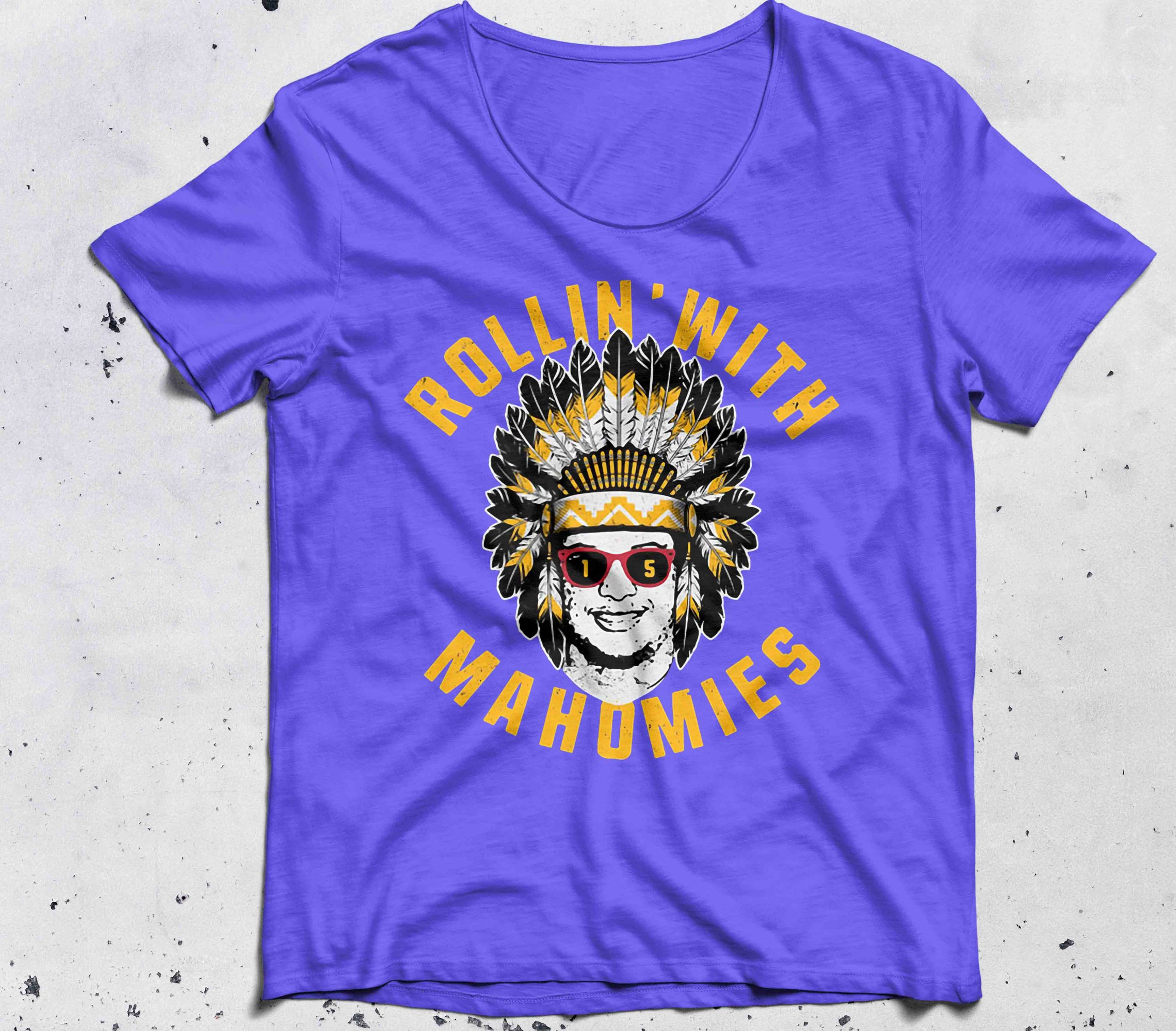 Rollin' with Mahomies Patrick Mahomes shirt