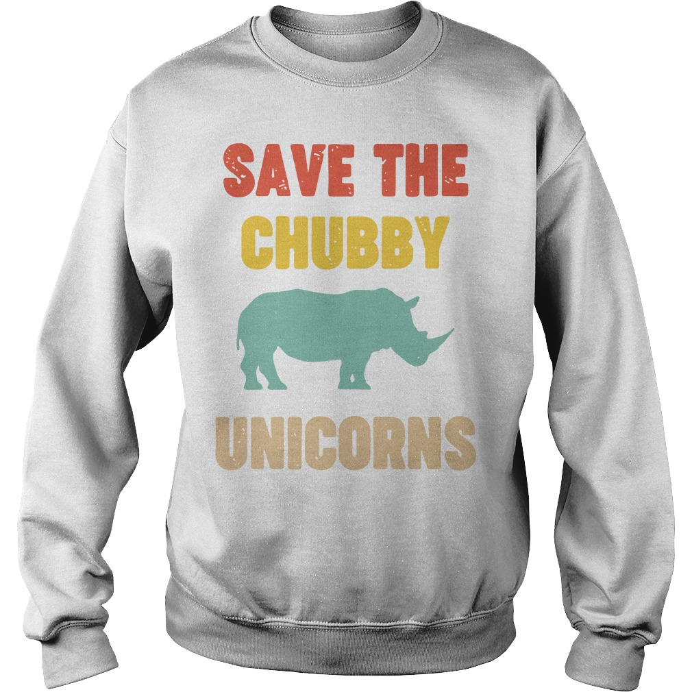 Save The Chubby Unicorn Sweater
