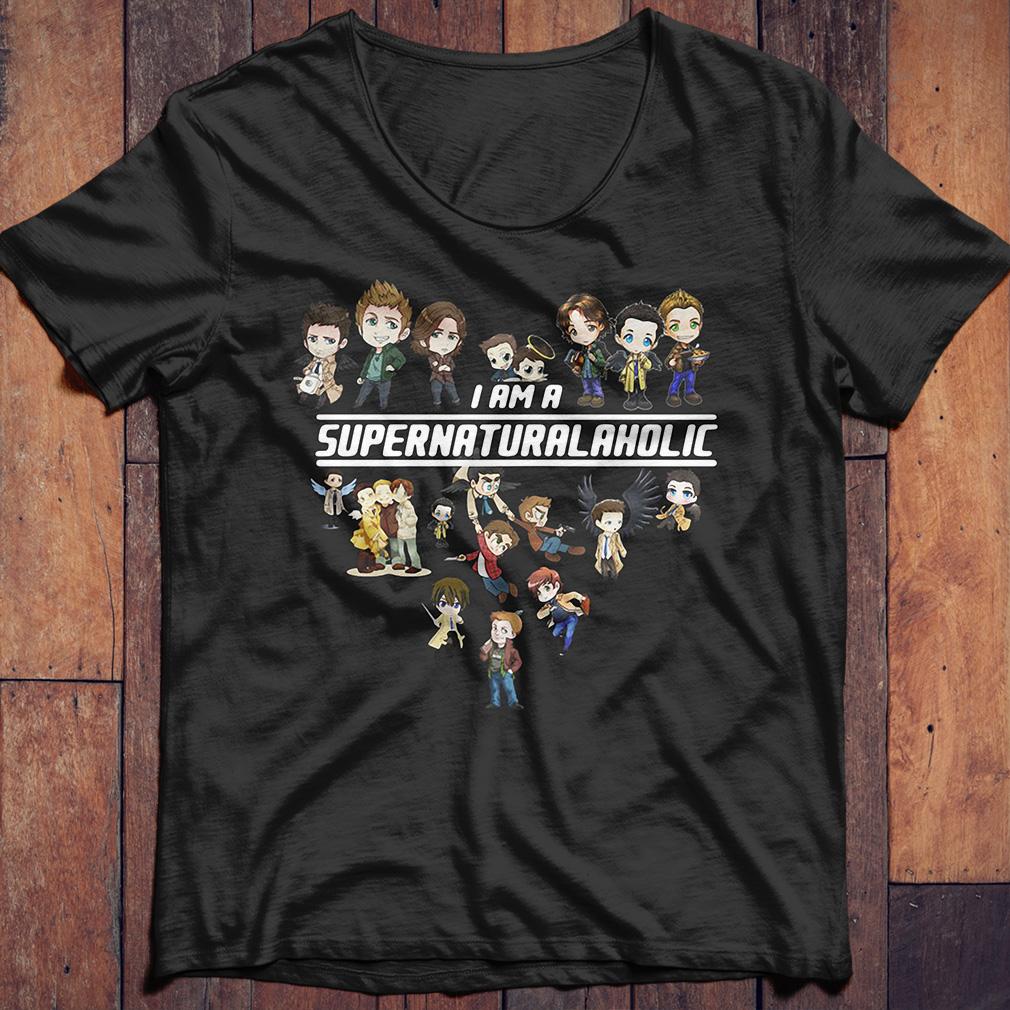 I am a supernatural aholic shirt