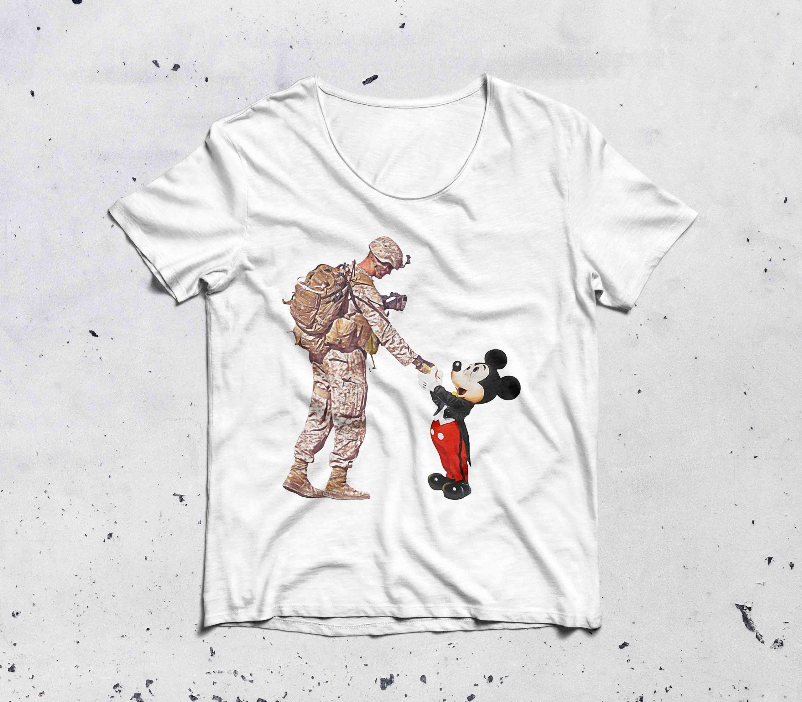 Thankful veteran Disney mickey mouse shirt